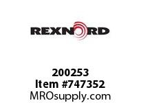 REXNORD 200253 18597 RING BUFFER SR71 300