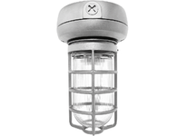 RAB VX1F26 VP CFL CEILING 26W QT 1/2 WITH GLASS GLOBE CAST GD