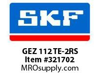 SKF-Bearing GEZ 112 TE-2RS