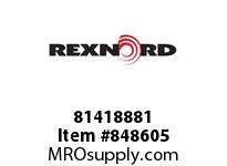 REXNORD 81418881 HT7705-4.5 DTS LH HT7705-4.5 DTS LEFT HAND WITH TABS
