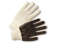 West Chester K708SPCL Ladies String Knit Brown Vinyl Coated Palm Glv - Premium