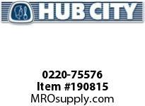 HUBCITY 0220-75576 SS214 25/1 A WR 143TC SS WORM GEAR DRIVE