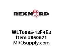 REXNORD WLT6085-12F4E3 LT6085-12 F4 T3P LT6085 12 INCH WIDE MATTOP CHAIN WI