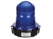 NSI TA93-2BN5 117V FLASHING MIDI STROBE-BLUE