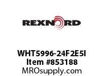 REXNORD WHT5996-24F2E5I WHT5996-24 F2 T5P N1 WHT5996 24 INCH WIDE MATTOP CHAIN W