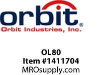 Orbit OL80 80CFM LUXURIOUS VENTILATION FAN 0.7 SONE