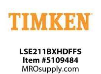 TIMKEN LSE211BXHDFFS Split CRB Housed Unit Assembly