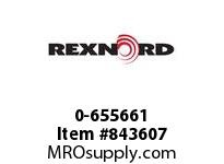 REXNORD 0-655661 1/4X20 FLANGED THREAD INS