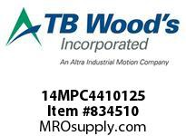 TBWOODS 14MPC4410125 14MPC-4410-125 QTPCII BELT