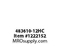 WireGuard 483610-12HC 48x36x10 NEMA TYPE 12