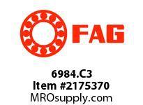 FAG 6984.C3 RADIAL DEEP GROOVE BALL BEARINGS