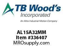 TBWOODS AL15A32MM AL15-AX32MM FF COUP HUB