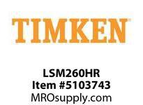 TIMKEN LSM260HR Split CRB Housed Unit Component
