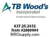 TBWOODS 637.25.2432 STEP-BEAM 25 1/4 --10MM