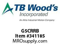 TBWOODS G5CRRB 5CX2 1/2 RB RIGID HUB