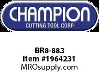 Champion BR8-883 CARB TIP LEAD ANGLE TURN TOOL