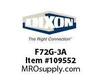 DIXON F72G-3A 3/8 FILTER AUTO DRAIN TRANSP BOWL