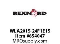 REXNORD WLA2015-24F1E15 WLA2015-24 F1 T15P N1.33 WLA2015 24 INCH WIDE MATTOP CHAIN W
