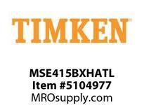 TIMKEN MSE415BXHATL Split CRB Housed Unit Assembly