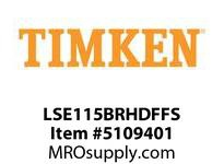 TIMKEN LSE115BRHDFFS Split CRB Housed Unit Assembly