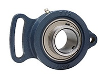 FYH UCFA211 55MM ND SS 2 BOLT ADJ.FLANGE UNIT