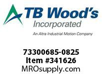 TBWOODS 73300685-0825 73300685-0825 11S M-SF CPLG