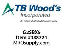 TBWOODS G2SBX5 2X5 SB SPACER