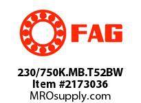 FAG 230/750K.MB.T52BW DOUBLE ROW SPHERICAL ROLLER BEARING
