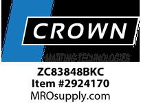 Crown ZC83848BKC 910 - Comfort-King Anti-Static 48in Custom Black