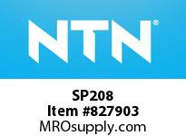 NTN SP208 Stainless-Mounted unit housing