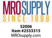MRO 52006 1/8 X 3-1/2 SC80 316SS SEAMLESS