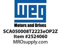 WEG SCA050008T2223eOP2Z SCA05 SERVO 8A W/POS-02 BOARD VFD - CFW