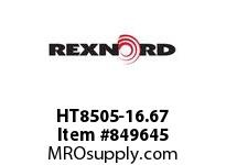 REXNORD HT8505-16.67 HT8505-16.66 HT8505 16.6 INCH WIDE MATTOP CHAIN