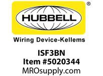 HBL_WDK ISF3BN PLATE DECORATOR FRAME3PORTBN