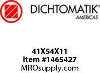 Dichtomatik 41X54X11 DC4R2-BX OIL SEAL