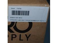 Bando 420-3M-9 SYNCHRO-LINK HIGH TORQUE NUMBER OF TEETH: 140 WIDTH: 9 MILLIMETER