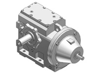 HUBCITY 0250-43481 HW2072ES 7.32 56C 2.000 HELICAL-WORM DRIVE
