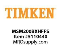 TIMKEN MSM200BXHFFS Split CRB Housed Unit Assembly