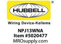 HBL_WDK NPJ13WNA WLPLT M-SIZE 1-G BOX MT BLANK WHITE