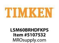 TIMKEN LSM60BRHDFKPS Split CRB Housed Unit Assembly