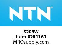 NTN 5209W DOUBLE ROW