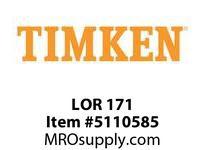 TIMKEN LOR 171 SRB Pillow Block Component