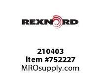 REXNORD 210403 596844 50.DBZ.CPLG STR TD