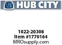 HubCity 1022-20308 KFBE2-1/4LT Spherical Flange Block