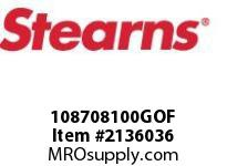 STEARNS 108708100GOF BRAKE ASSY-STD 283651