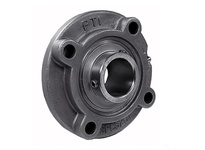 PTI SUCSFCS207-20 SS PILOTED 4-BOLT FLANGE BRG-1-1/4 SUCSFCS 200 SILVER SERIES - NORMAL
