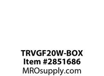 CPR-WDK TRVGF20W-BOX GFCI TR Deco Duplex 20A 125V WH