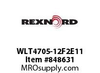 REXNORD WLT4705-12F2E11 WLT4705-12 F2 T11P N1.5 WLT4705 12 INCH WIDE MATTOP CHAIN W