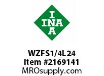 INA WZFS1/4L24 Linear fast shaft precision