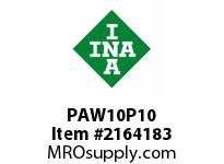 INA PAW10P10 Plain bearing washer
